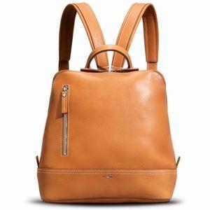Shinola Watch Co Mini Zip Bolt Leather Backpack
